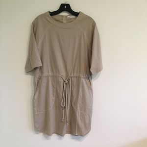 Dainty Hooligan Tan T Shirt Dress or Coverup Small
